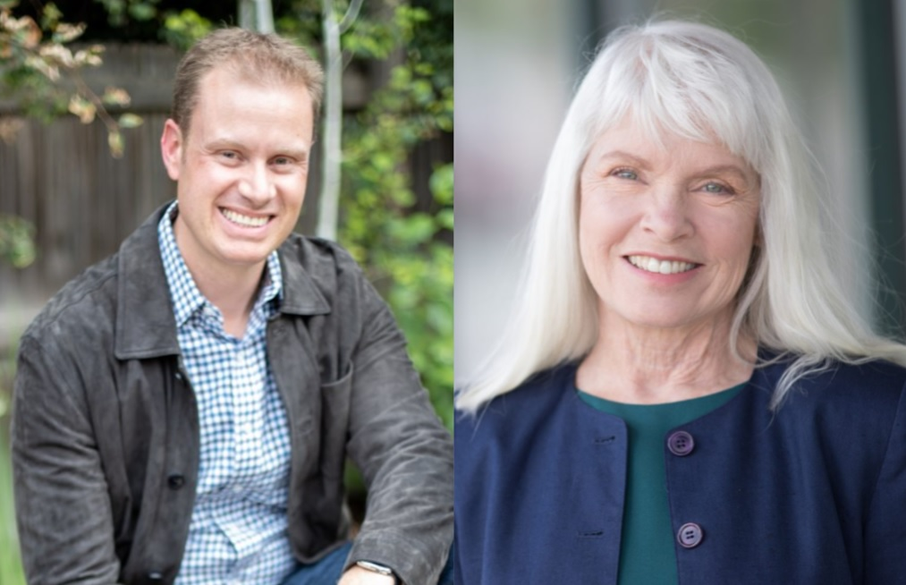 James Iacino and Diane Mitsch Bush are vying for the Democratic nomination in the 3rd Congressional District race.