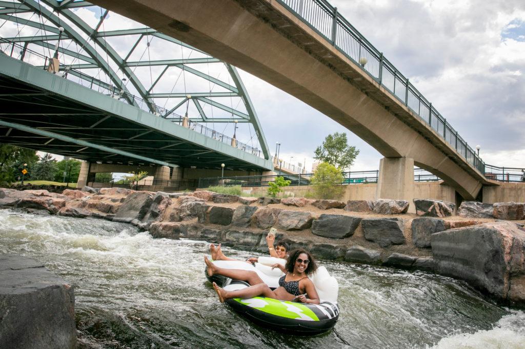 Denver Hot Weather Confluence Park