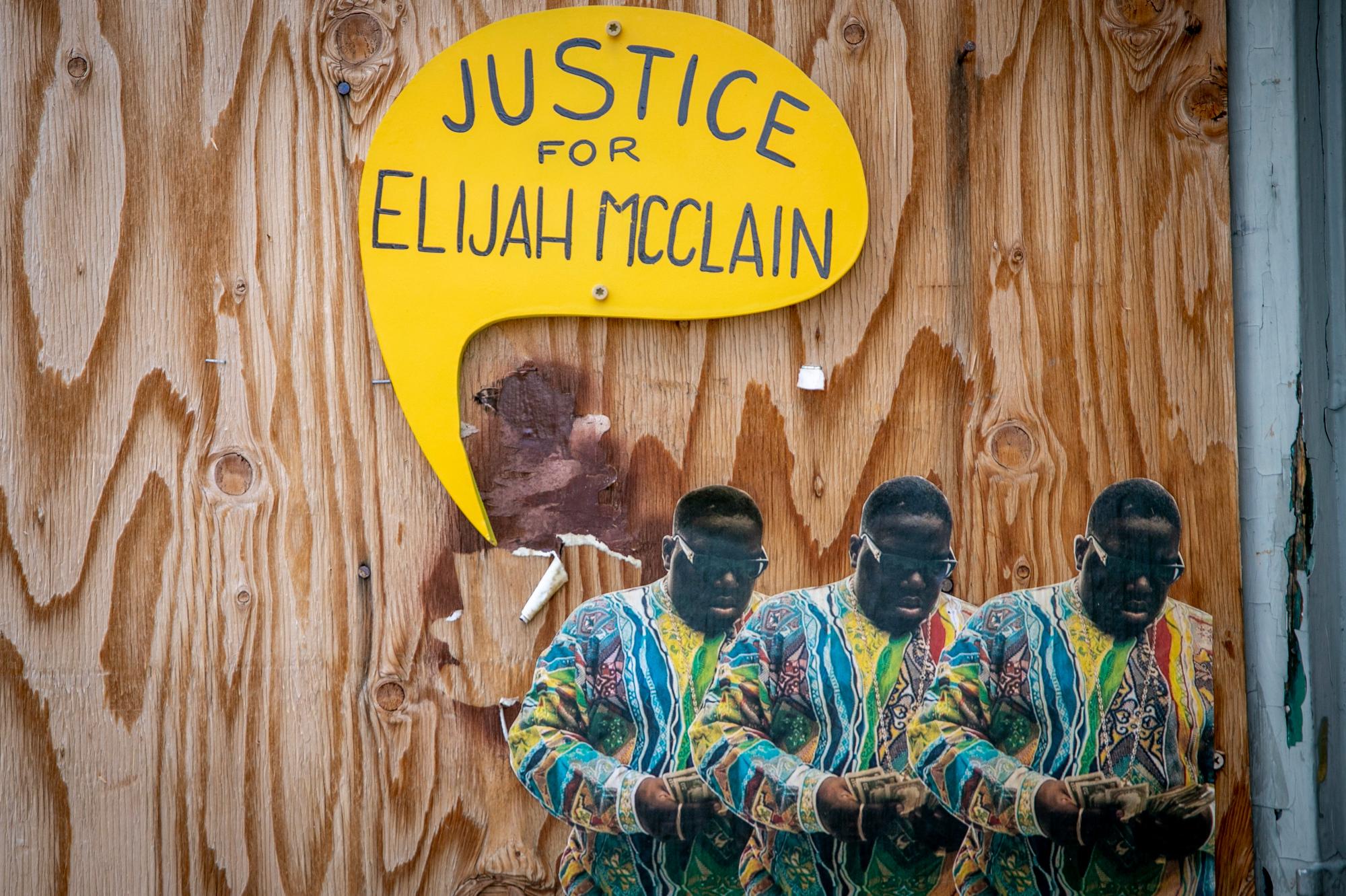Justice For Elijah McClain Street Art