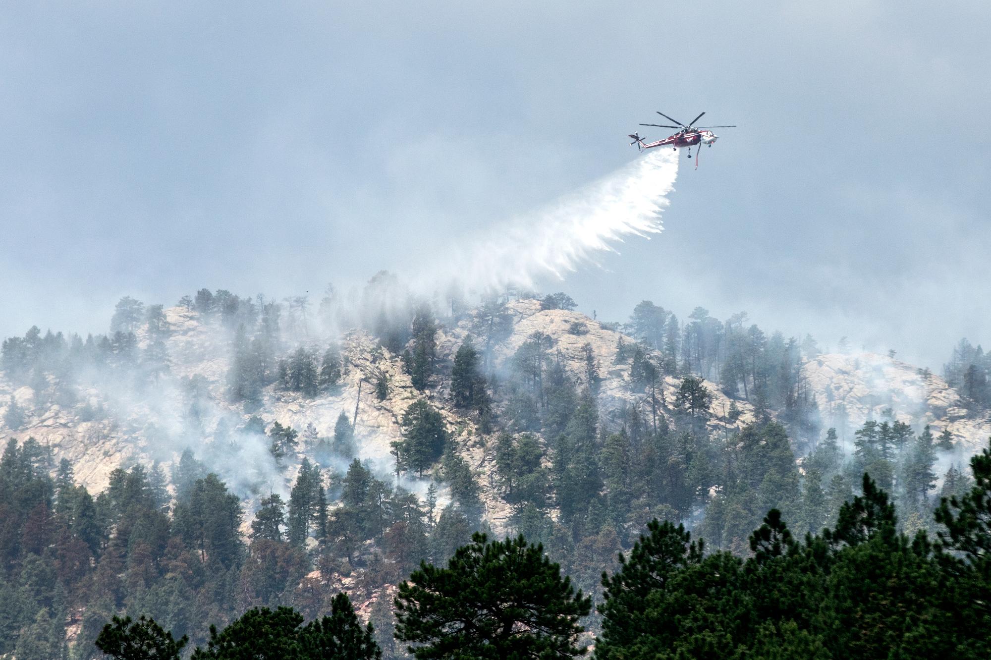 Evergreen Elephant Butte Fire