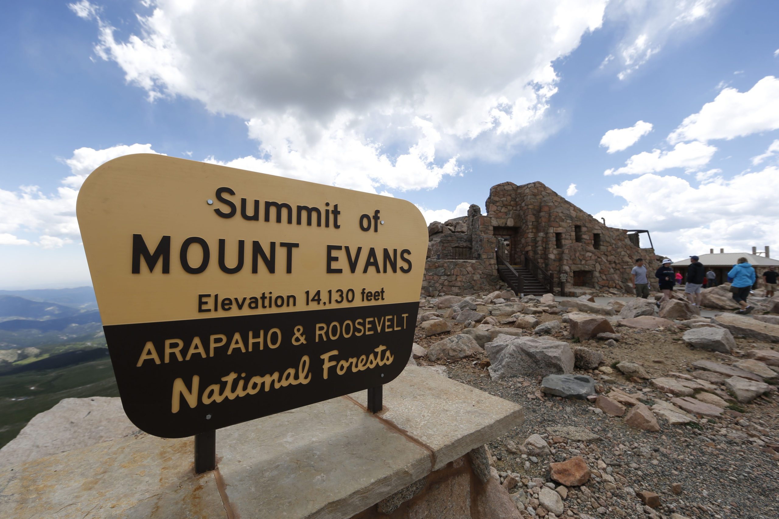 summit house on mount evans, Mount Evans Scenic Byway