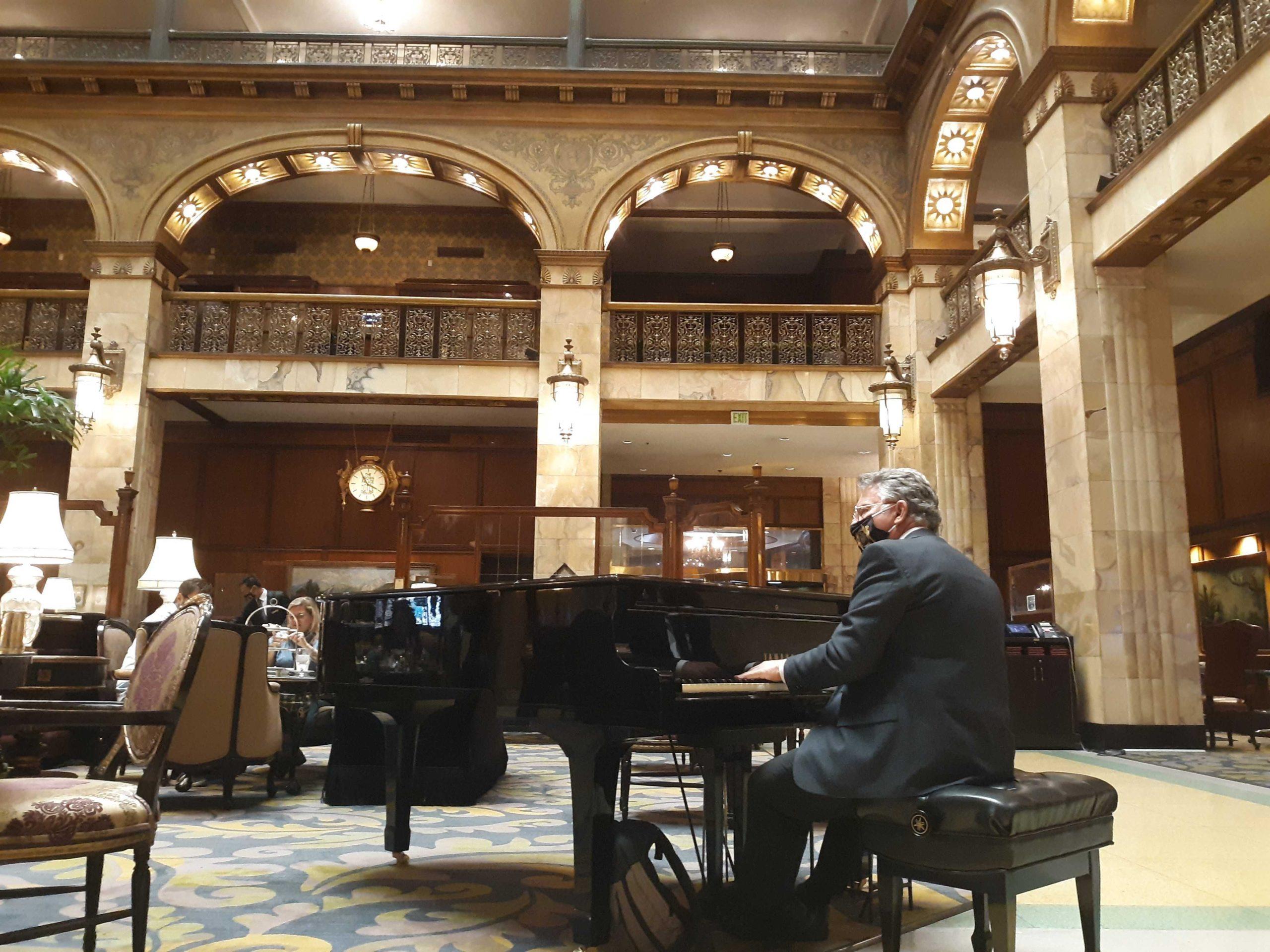 John Kite Brown Palace Piano Player