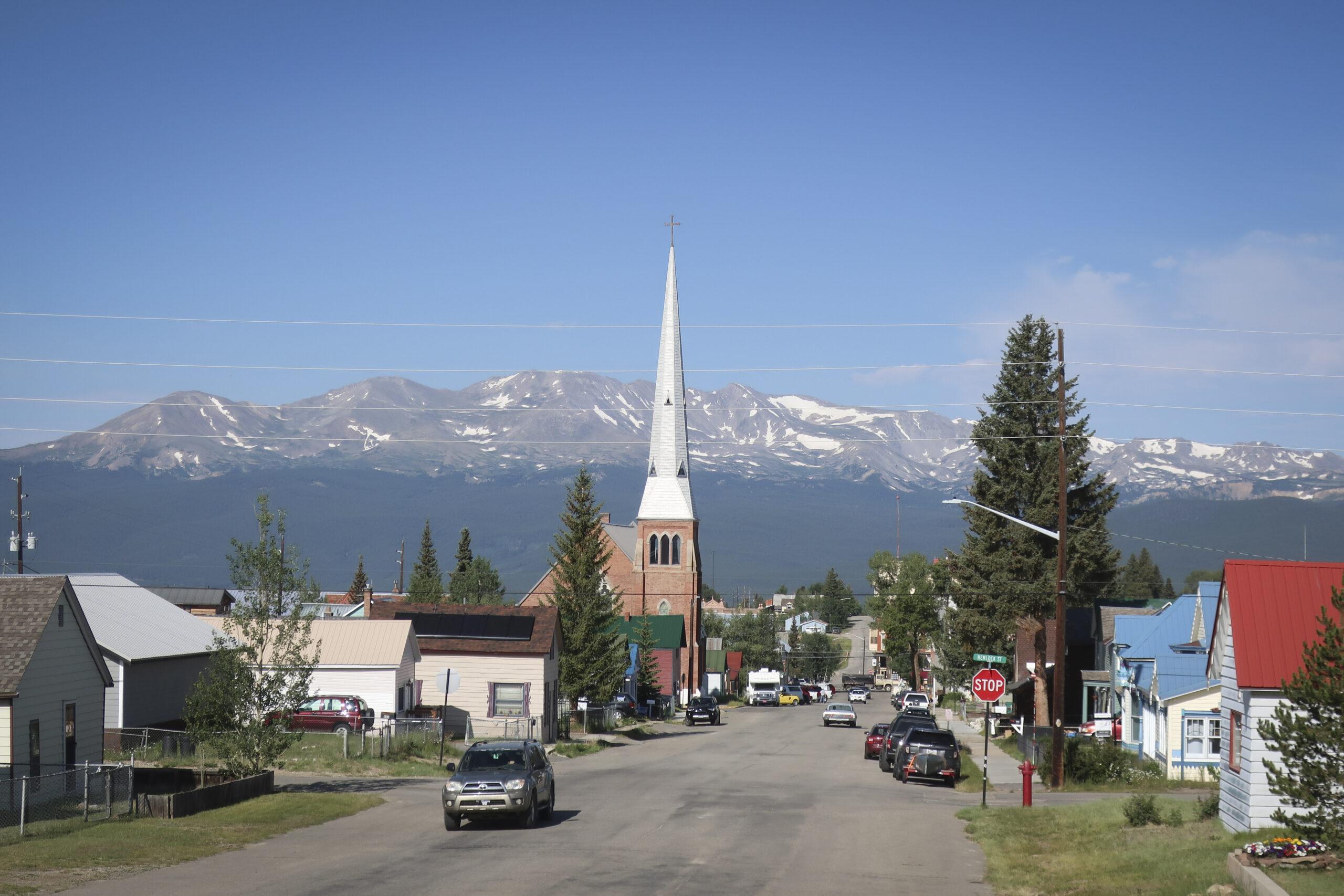 Leadville, Colorado on Thursday, July 16, 2020.