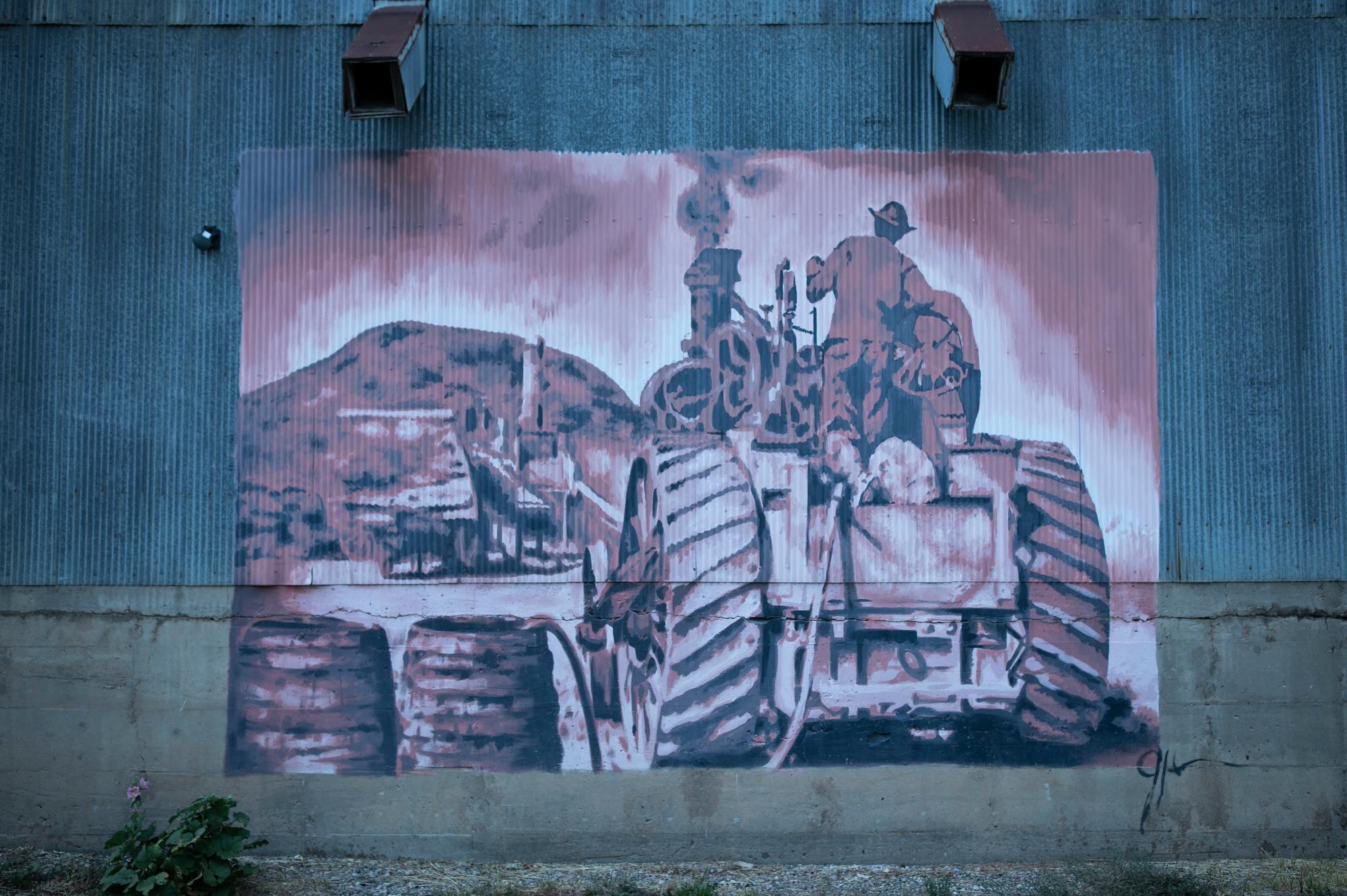 Hayden, Mural
