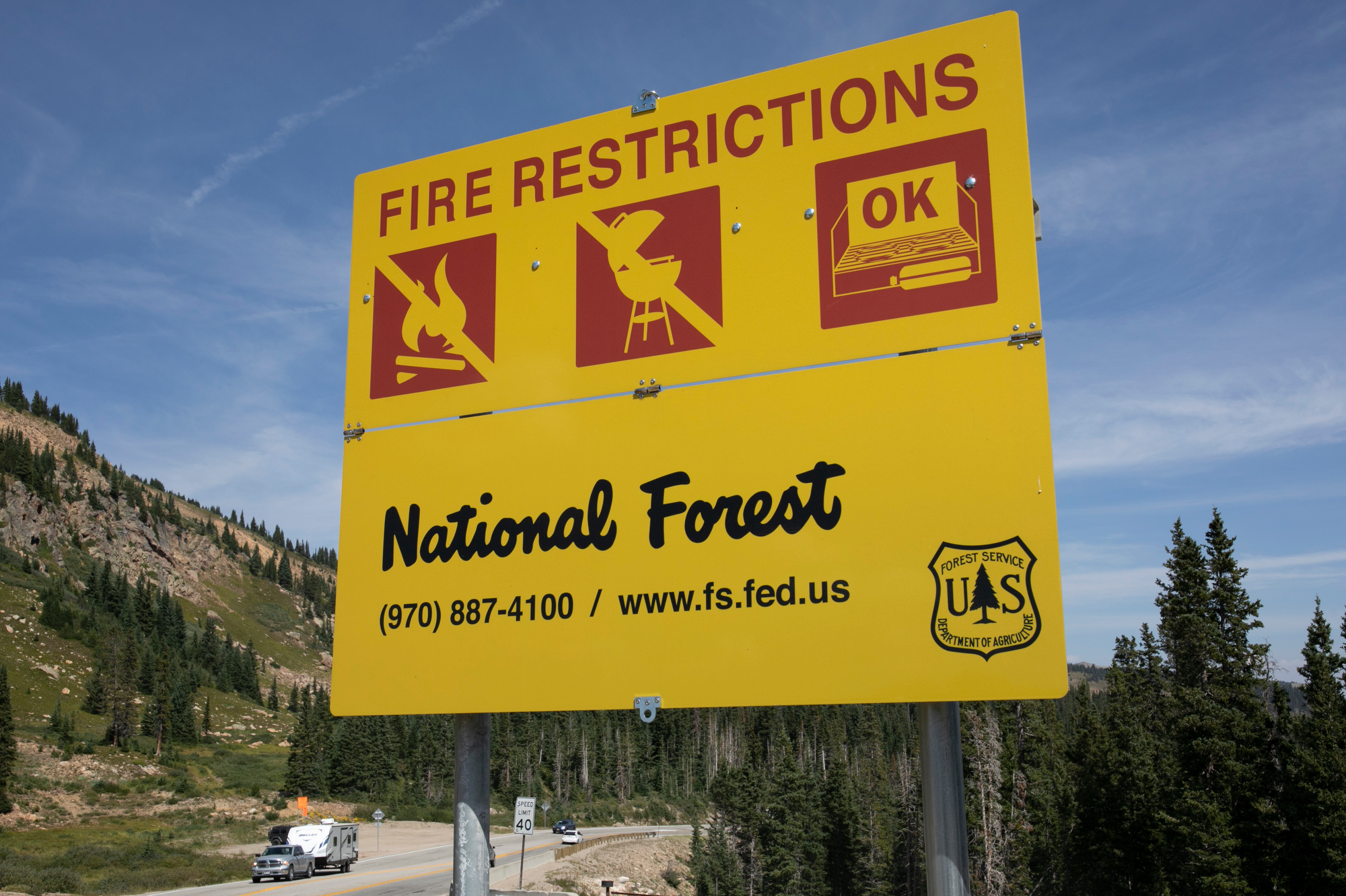 WILLIAMS FORK FIRE INTERAGENCY INCIDENT COMMAND POST