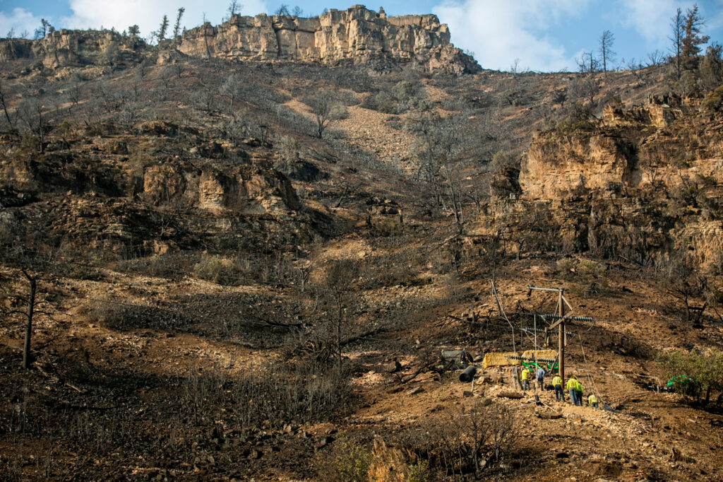 GRIZZLY CREEK FIRE GLENWOOD CANYON