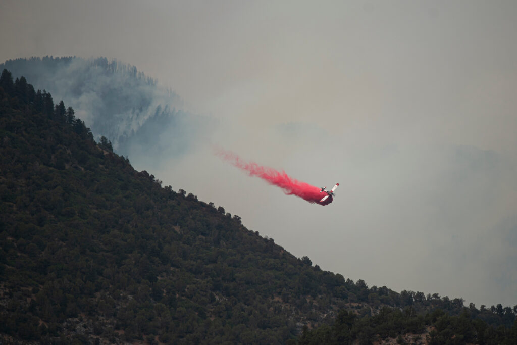 GRIZZLY CREEK FIRE GLENWOOD SPRINGS 200812