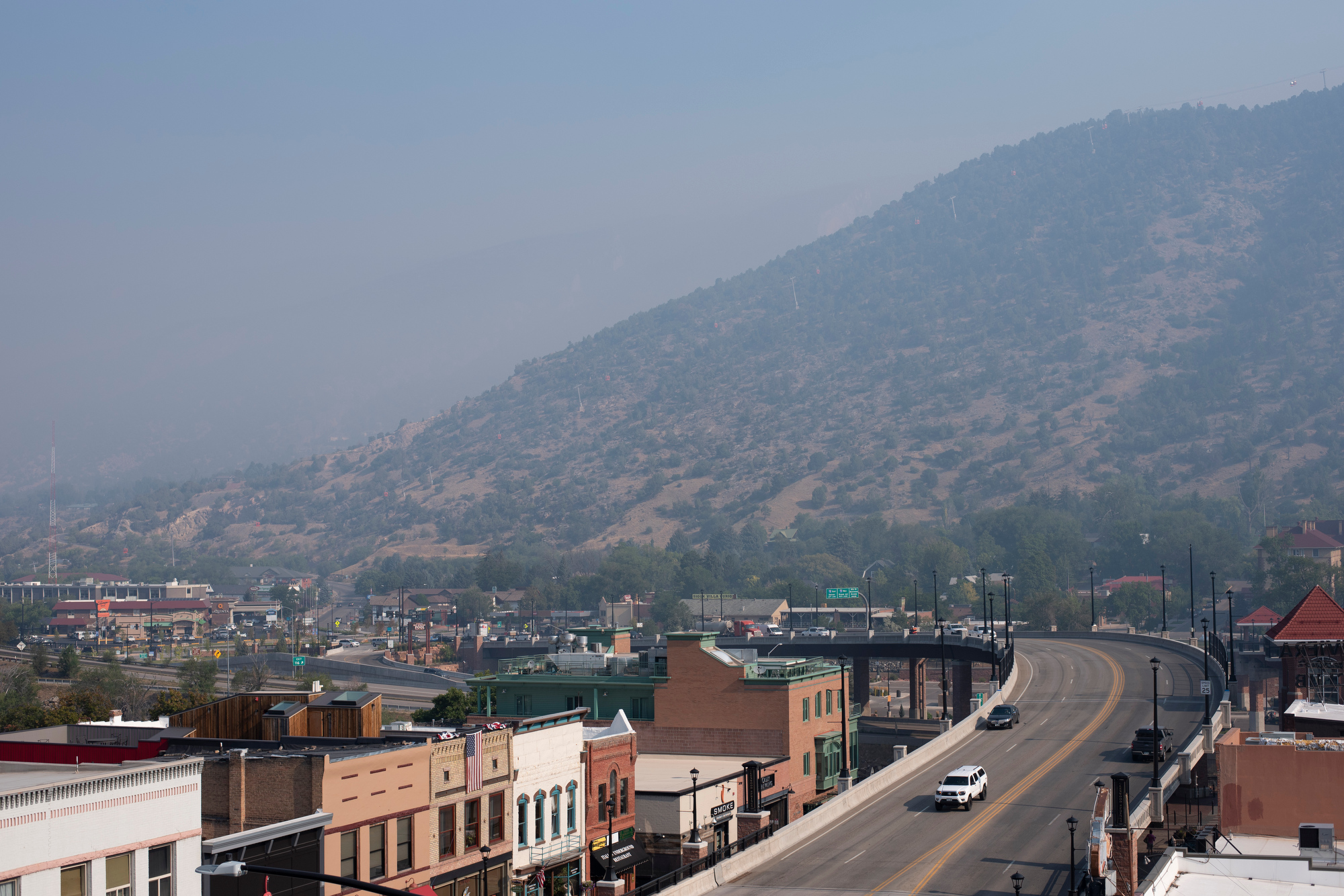 GRIZZLY CREEK FIRE GLENWOOD SPRINGS 200813