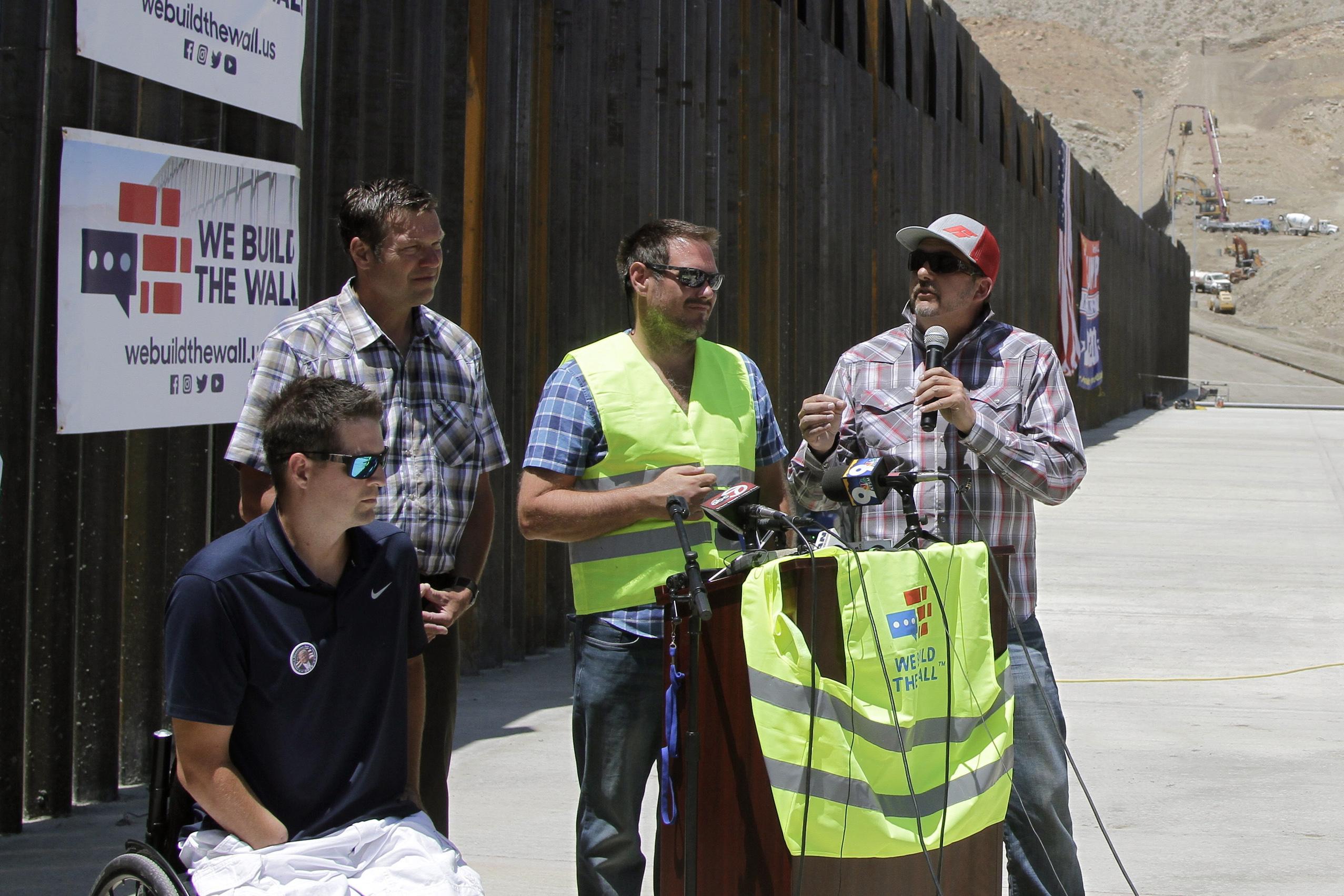 Border Wall-Fundraiser