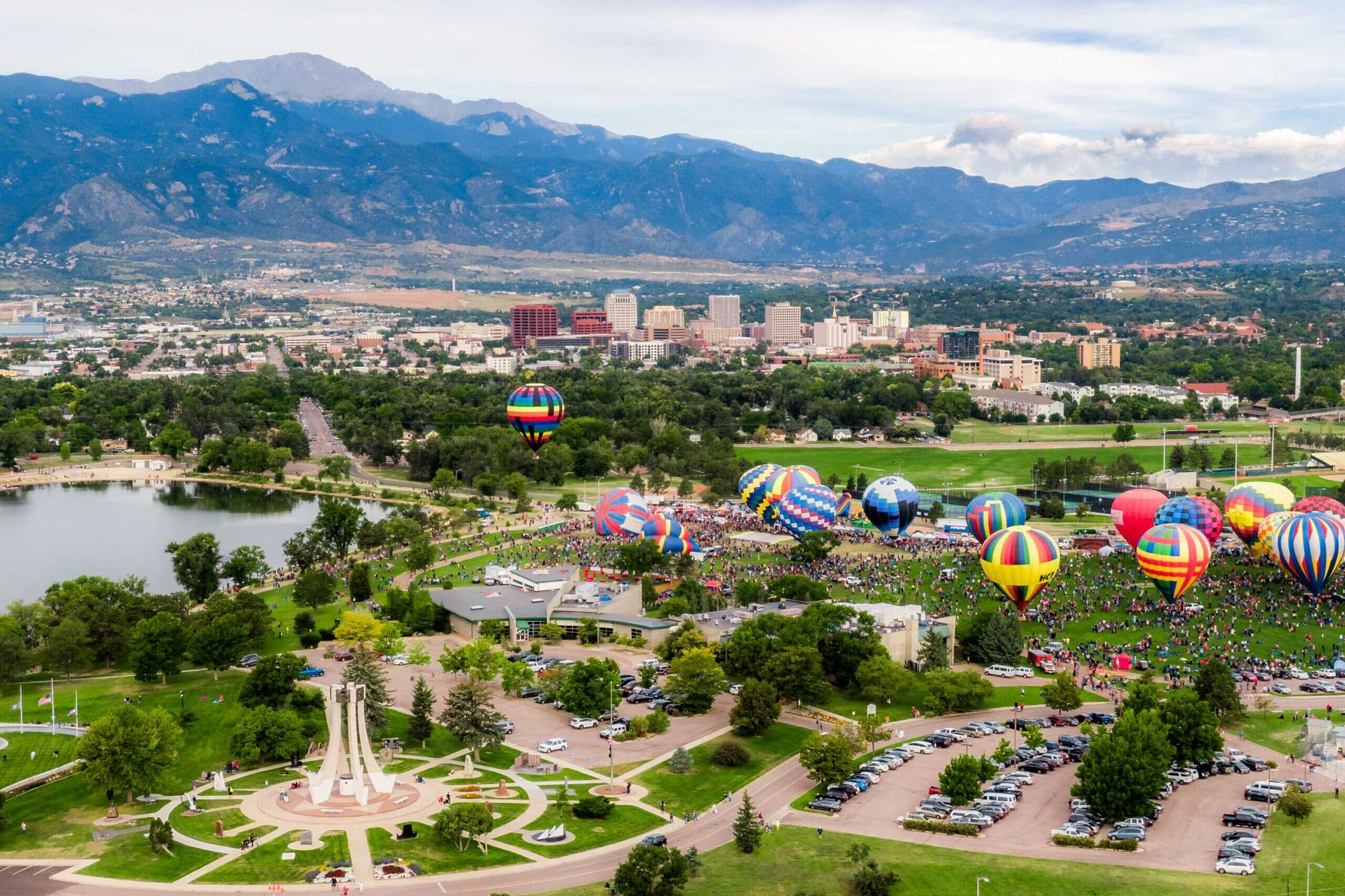 Development in downtown Colorado Springs has been a focus for the planning department.