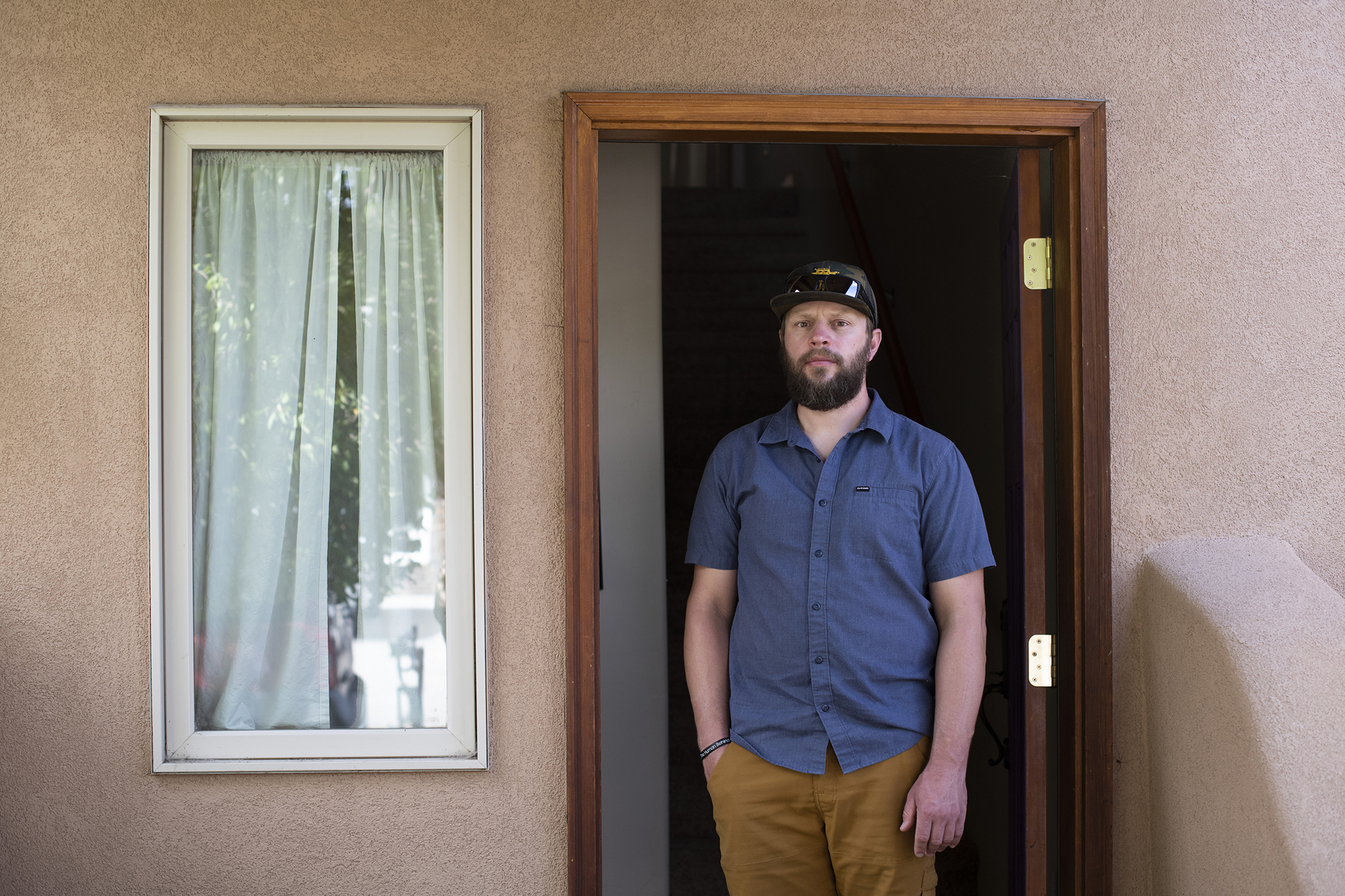 """Previously uninsured, Shannon Harness now has VA Health Care. He initially avoided looking into VA Health Care because he felt """"other vets needed it more."""""""