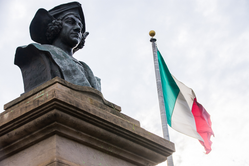 The bust of Christoper Columbus has long been an issue in Pueblo.