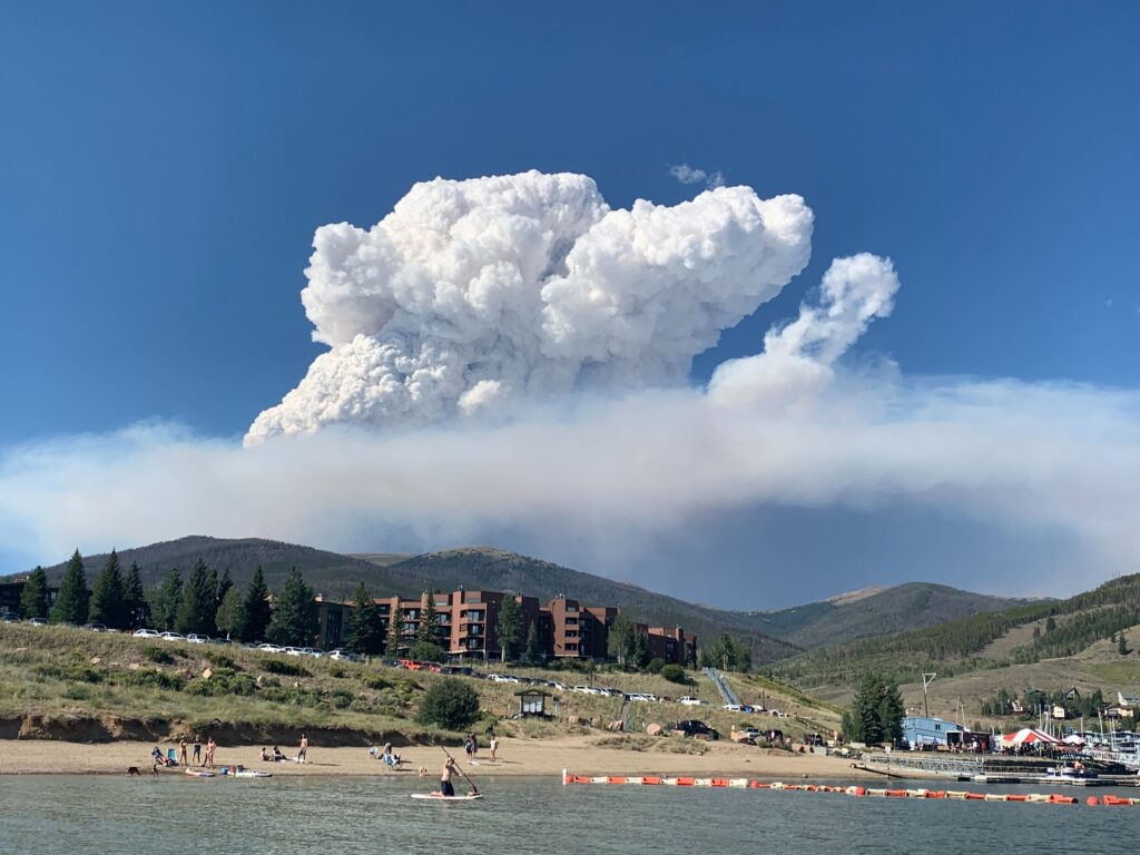 Williams Fork Fire August 15, 2020