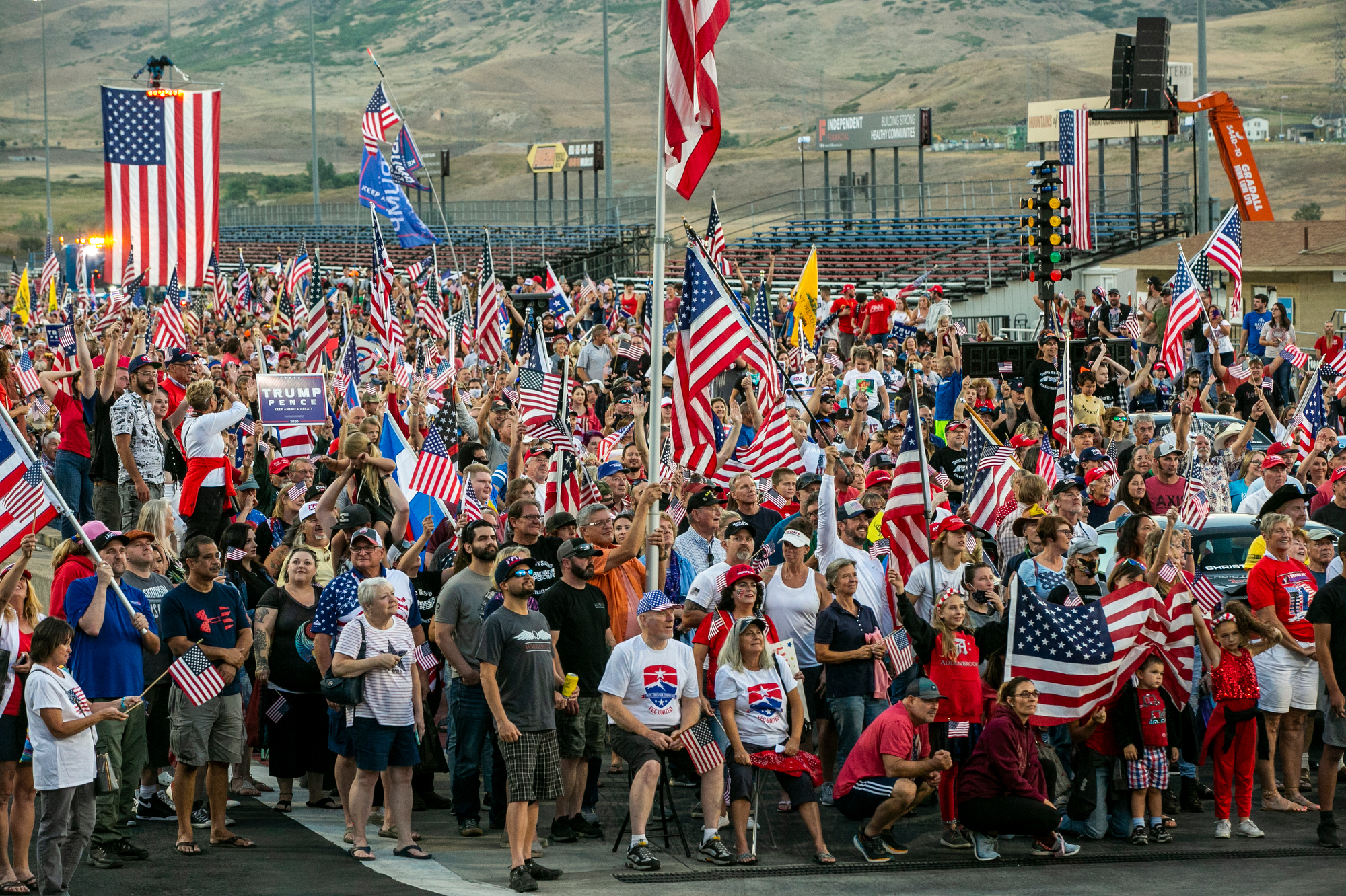 BANDIMERE-SPEEDWAY-PROTEST-DOUBLES-AS-TRUMP-RALLY-CROWD