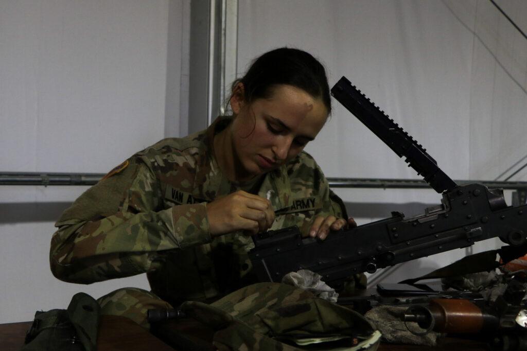 ROTC Cadet Isabella Van Atten