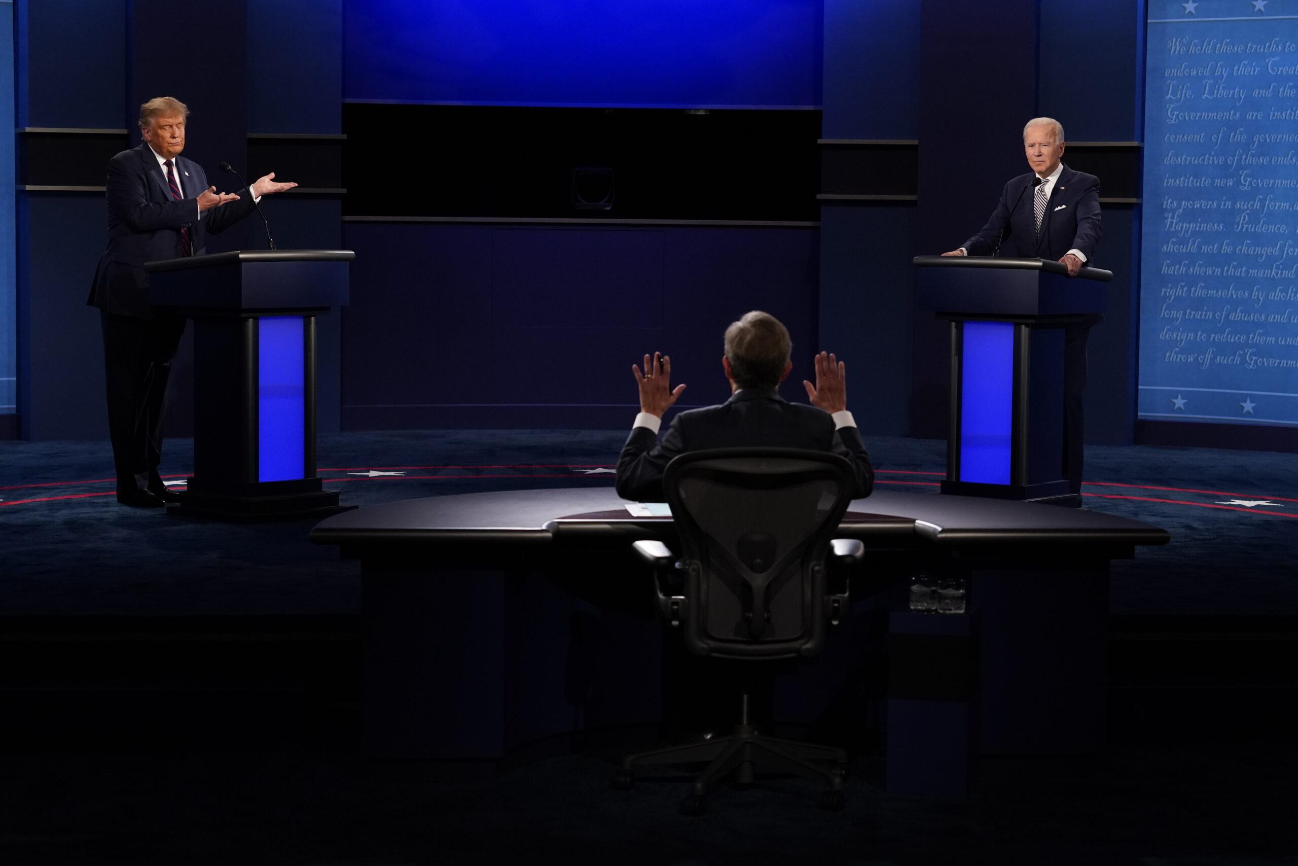Chris Wallace, Donald Trump, Joe Biden