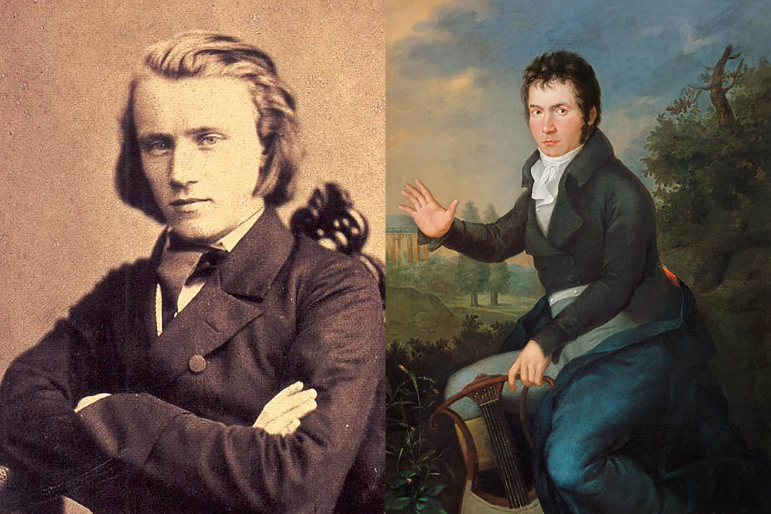 Brahms and Beethoven