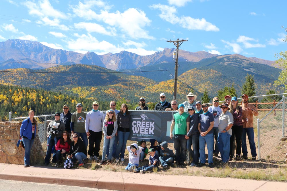 In 2019, volunteers cleaned up 14 tons of litter along the Fountain Creek Watershed.