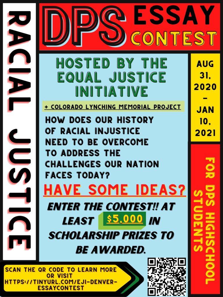 Denver Public High School Essay Contest