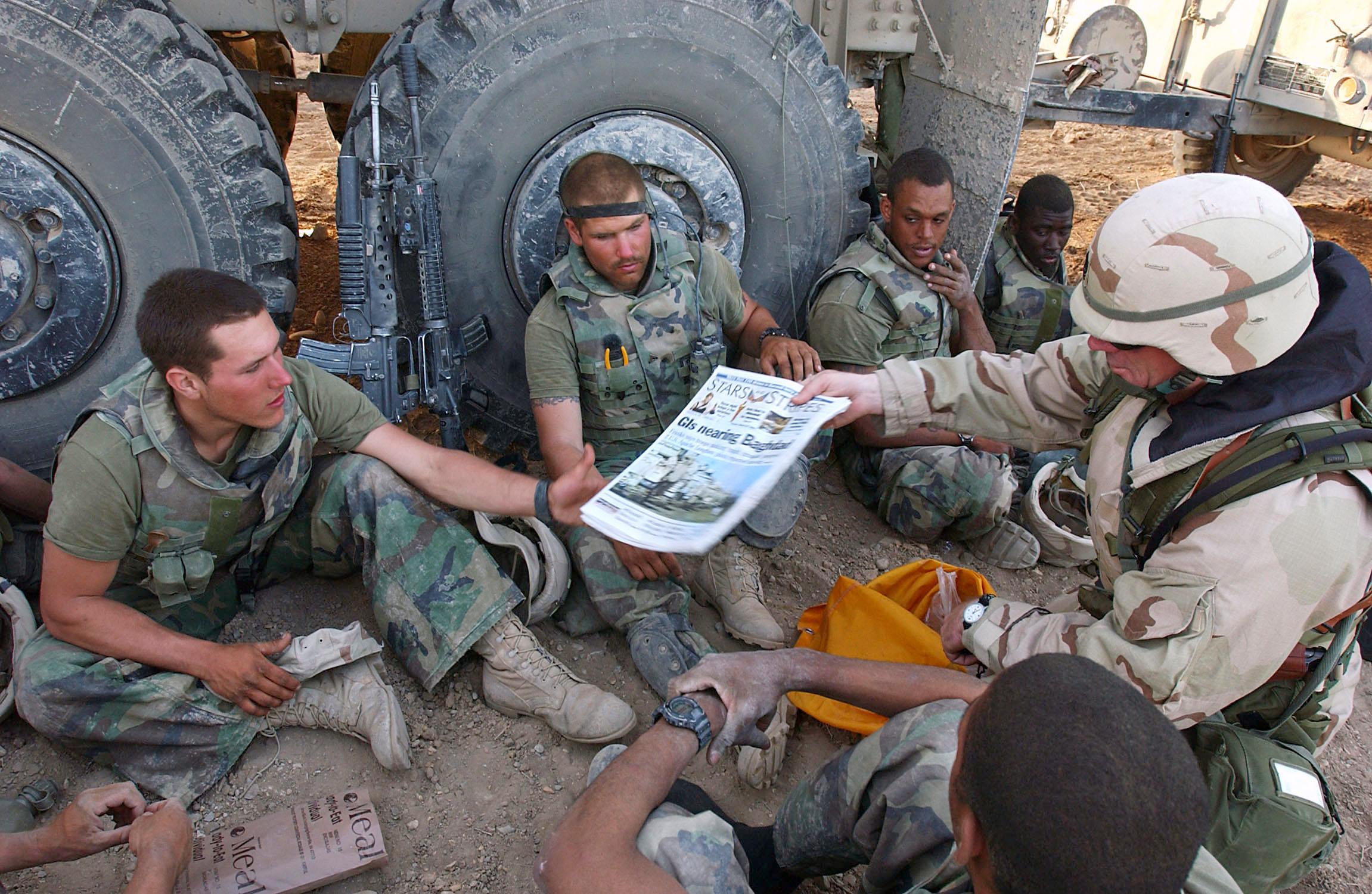 Stars And Stripes Operation Iraqi Freedom