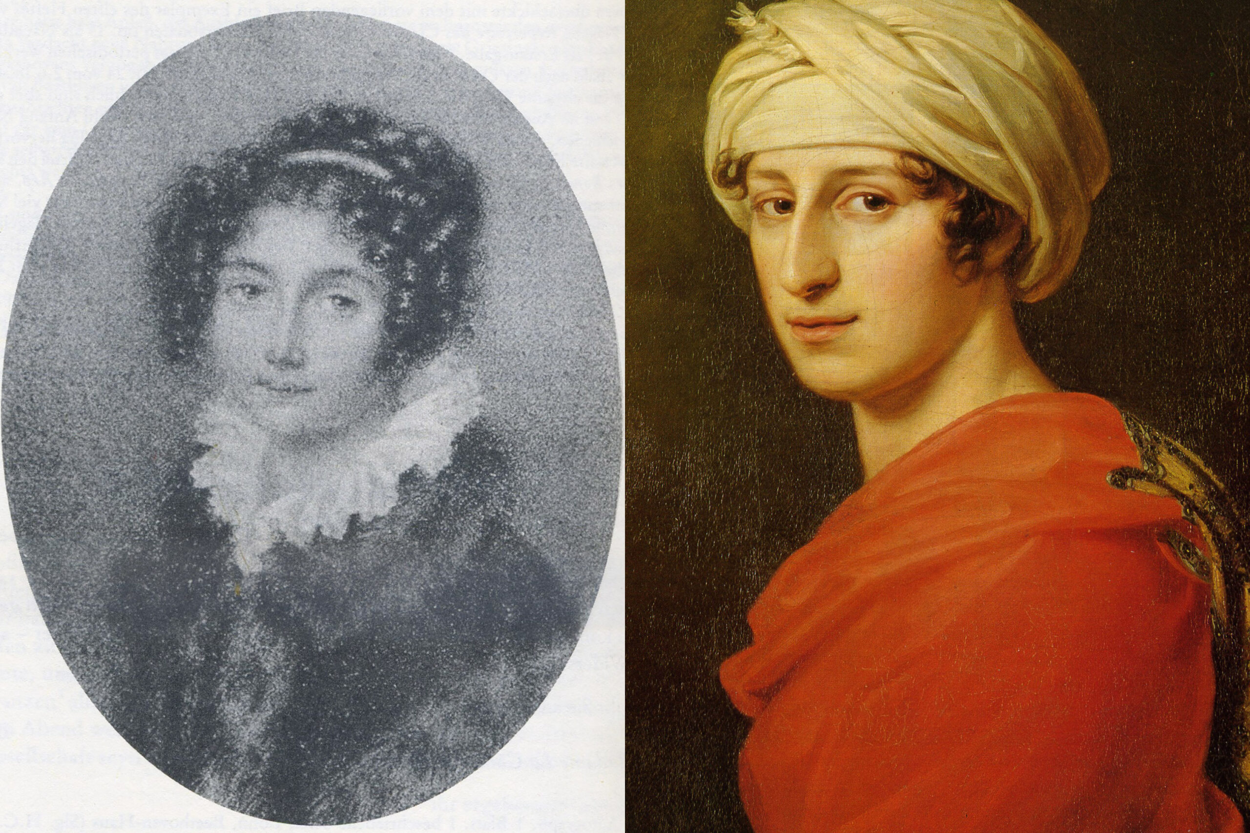 Josephine Von Brunswik and Antonie Brentano