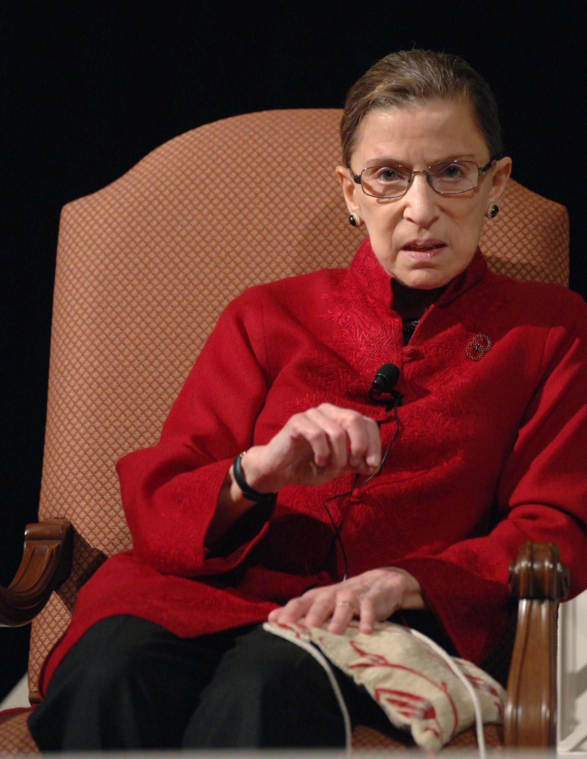 Ruth Bader Ginsburg,