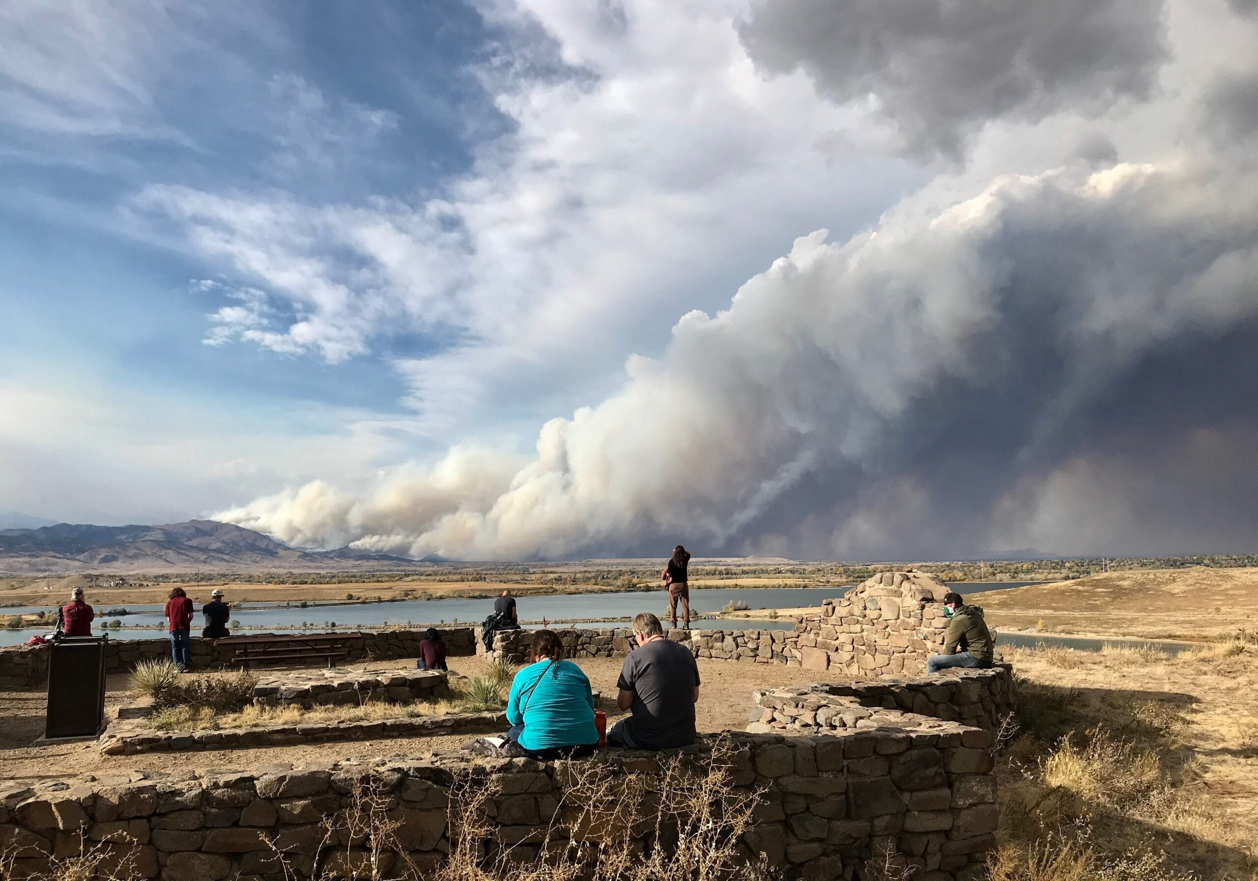 The Cal-Wood fire started on October 17, 2020, in the foothills above Boulder.