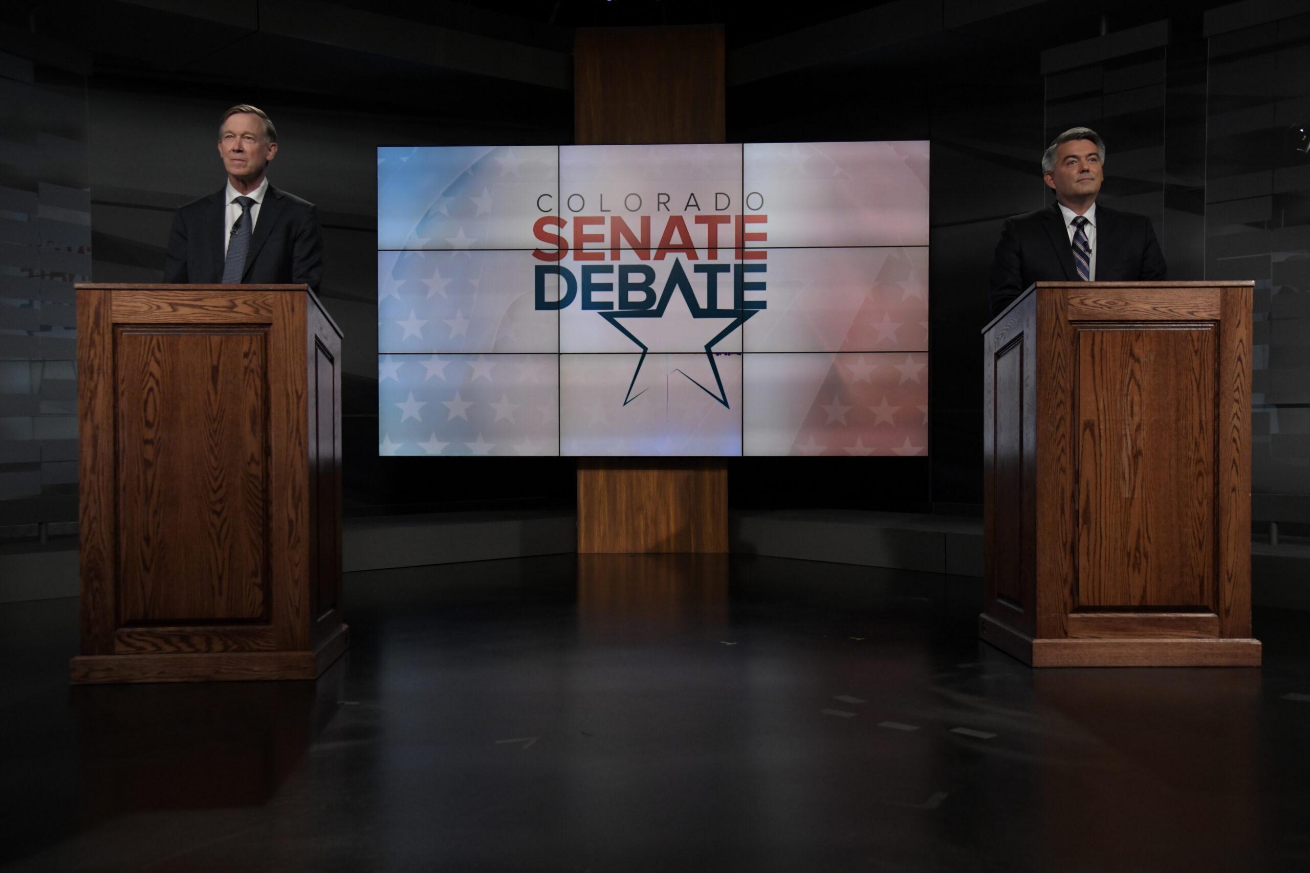 Colorado Senate debate