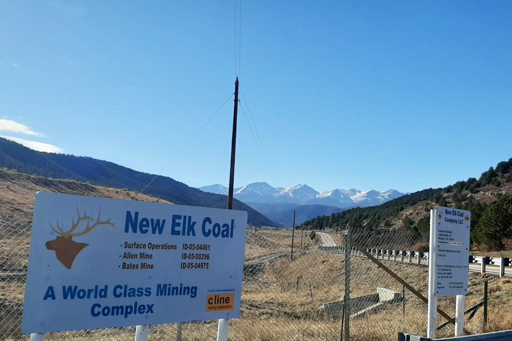 New Elk Coal is preparing to start mining this summer alongside the Highway of Legends in Las Animas County.