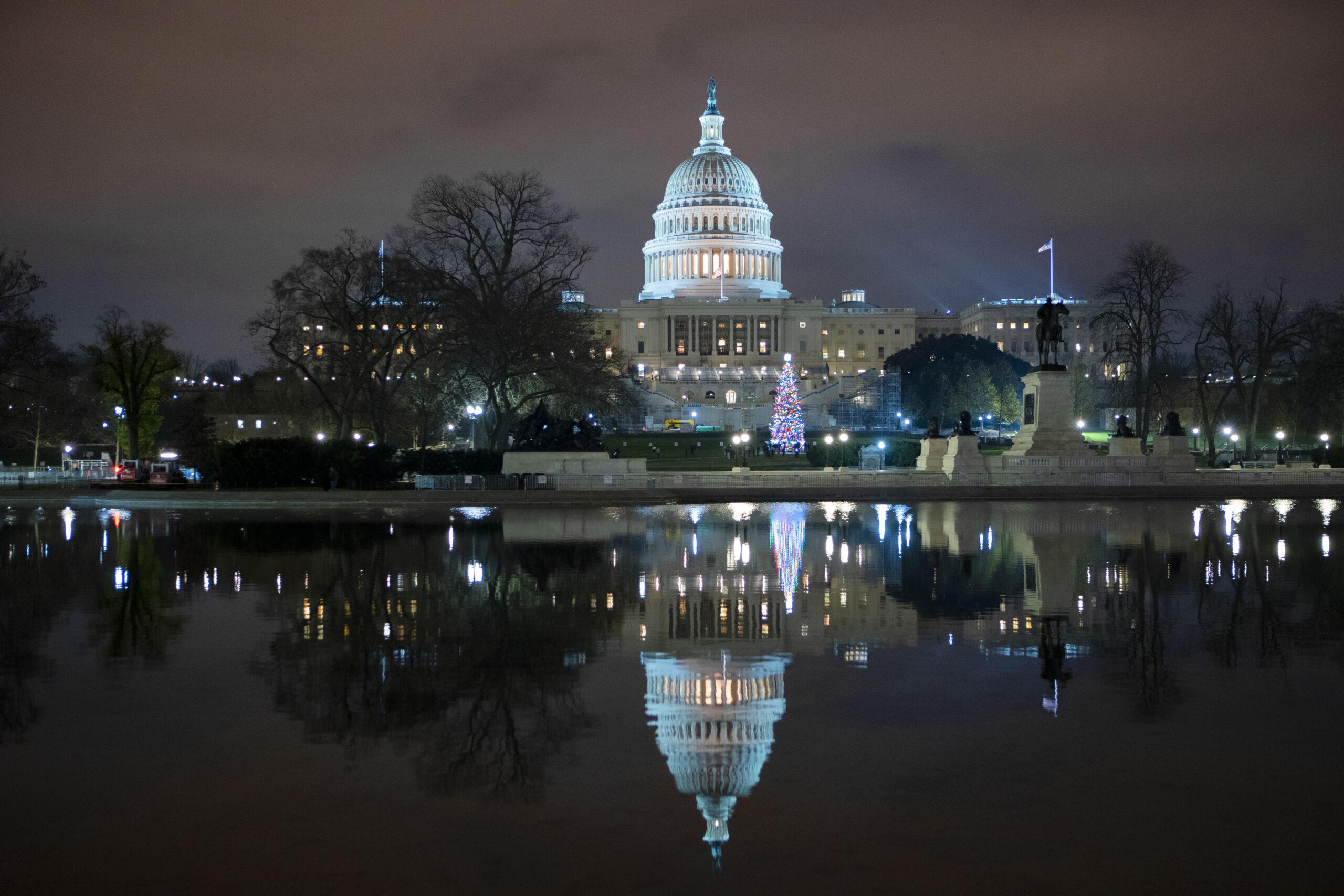 APTOPIX Congress COVID Relief Bill
