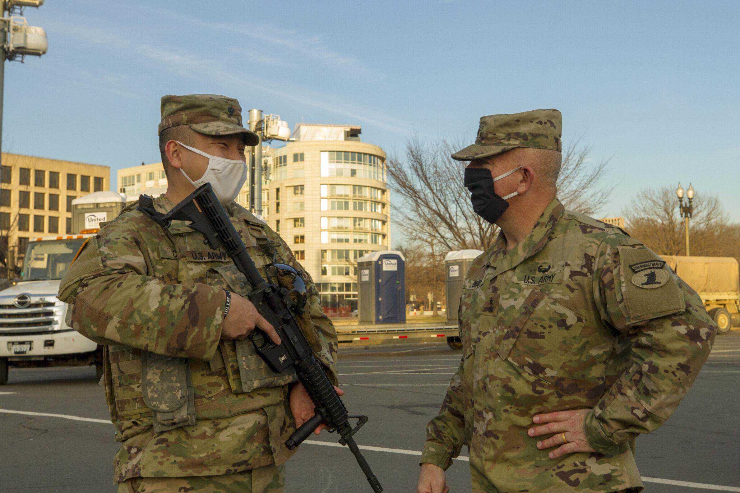 Delaware Maj. Gen. Berry Visit