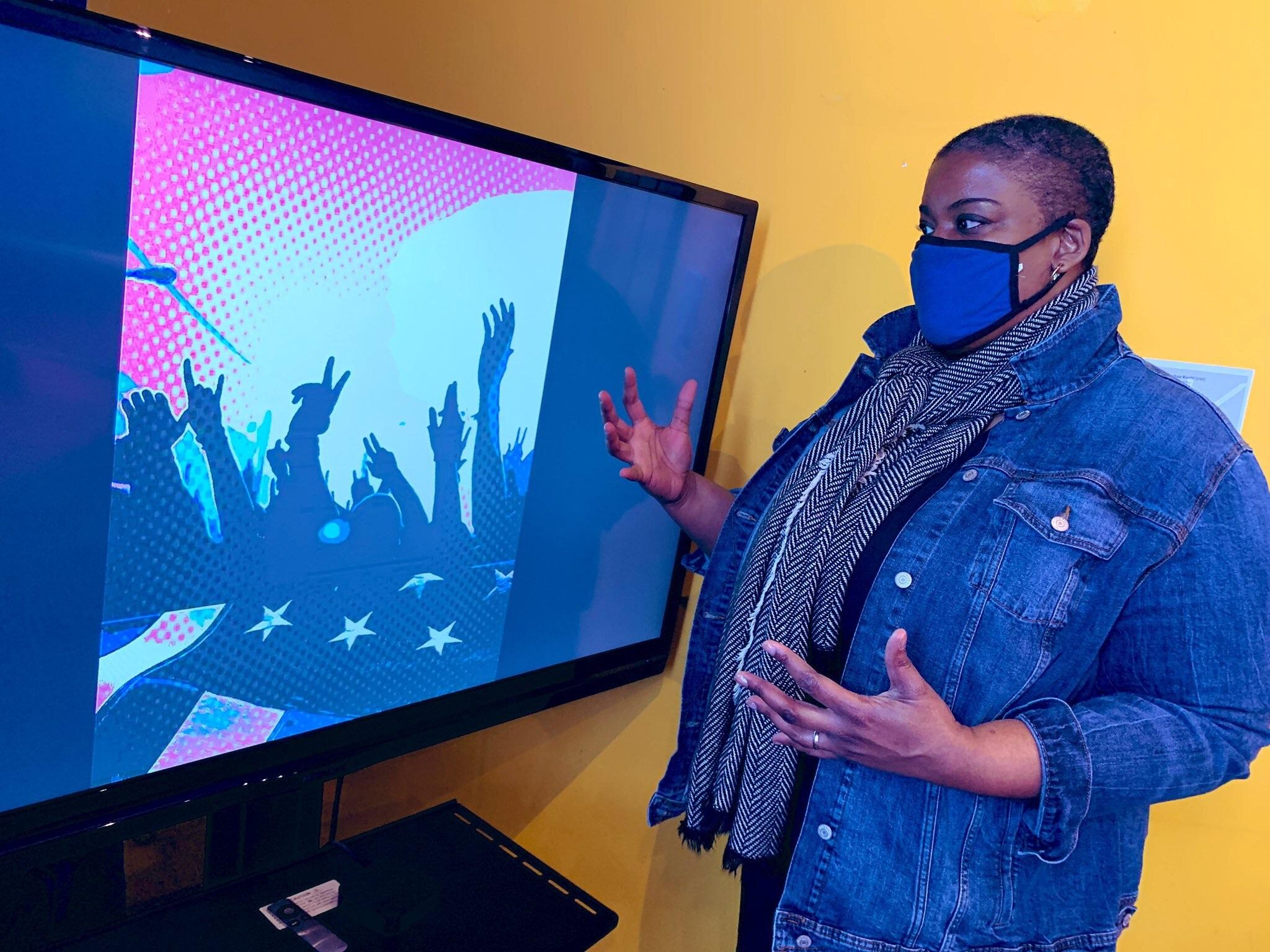Chloe Duplessis Westminster Artist Negro Stories