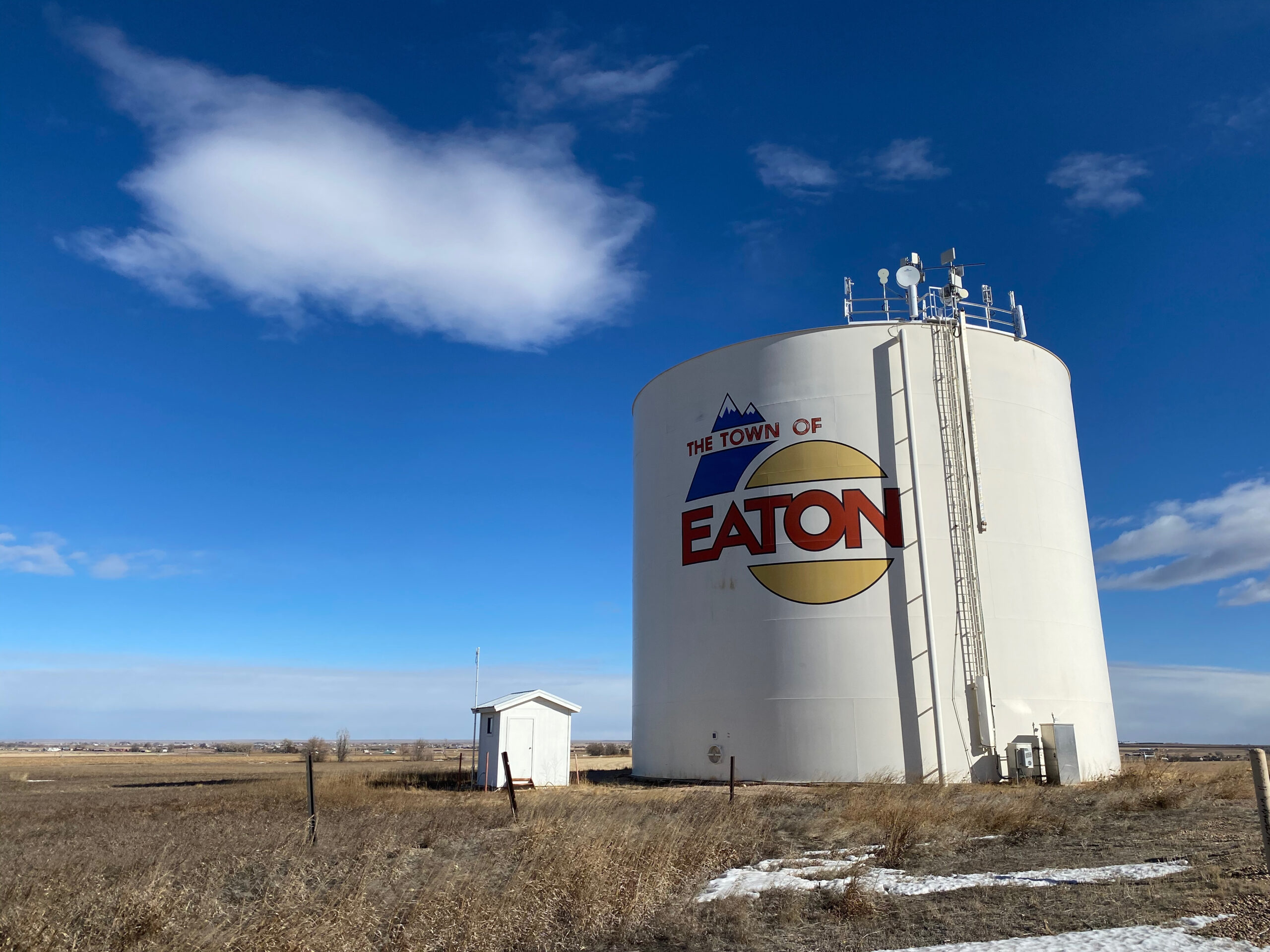 About 5,000 people live in Eaton, Colo., about 20 miles north of Greeley.