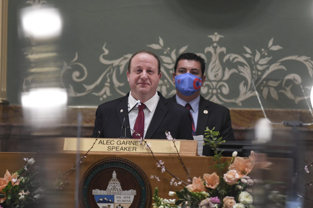 GOVERNOR JARED POLIS COLORADO STATE OF THE STATE