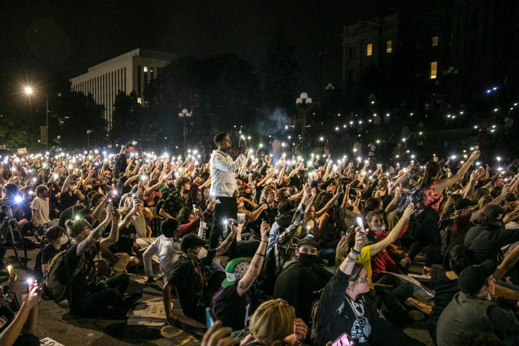 George Floyd Denver Protest June 3 Night