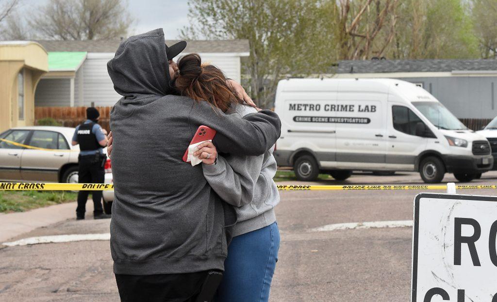 Colorado Springs mobile home park shooting May 9 2021