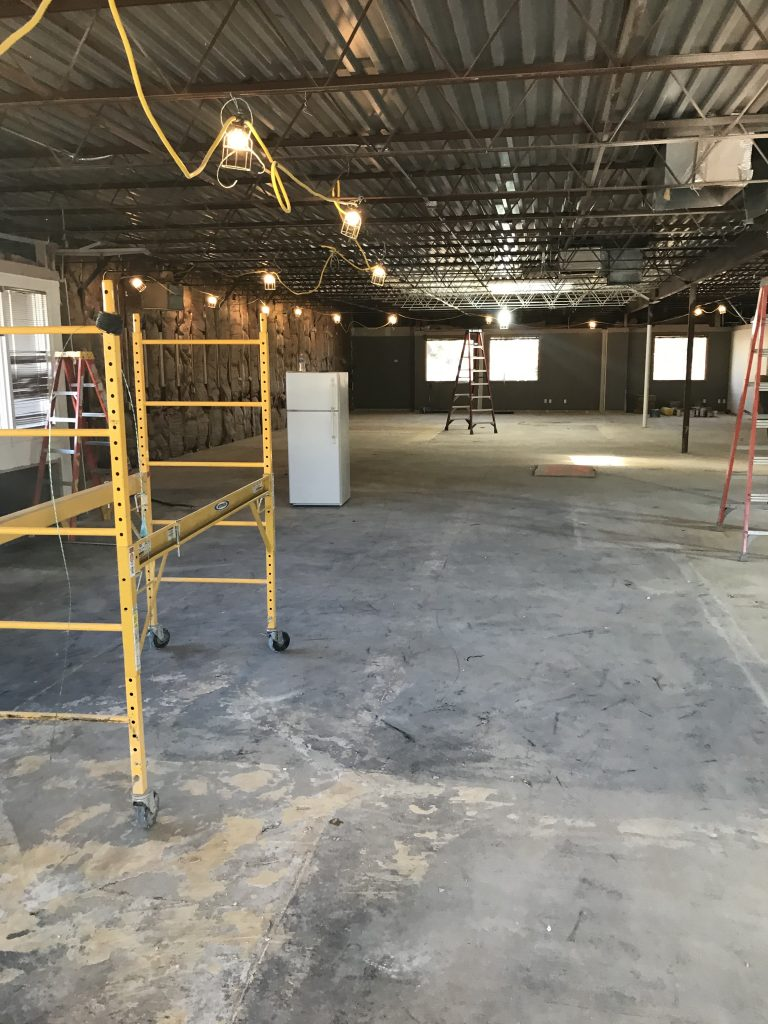 SCPMC - this is the second floor under construction