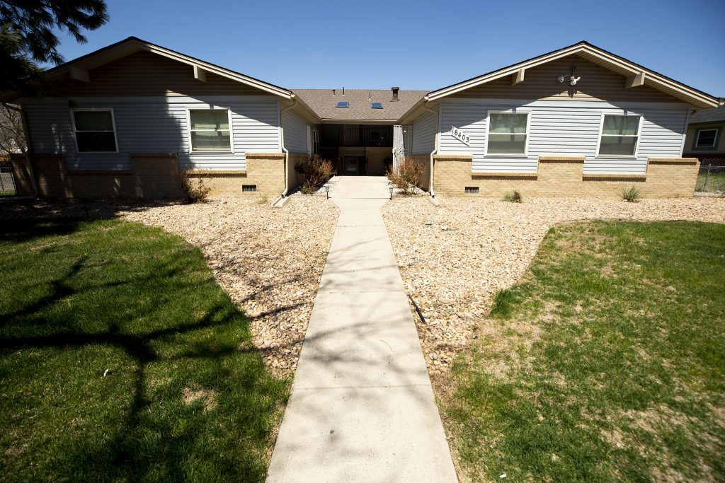 One of the properties Gail Steger Mock owns in Aurora. May 6, 2021.