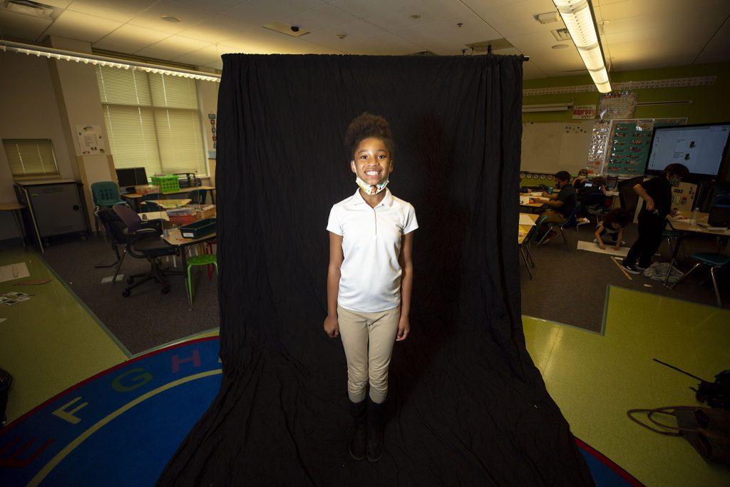 Amya (9). Hodgkins Leadership Academy. May 21, 2021.