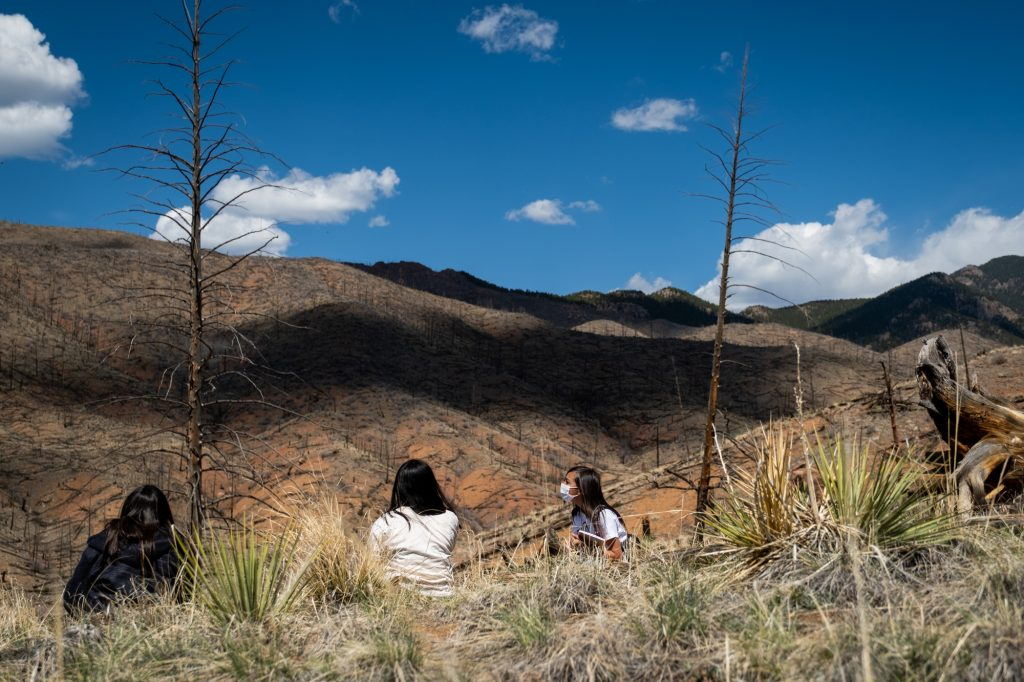 INDIGENOUS-STUDENTS-WILDFIRE-210507
