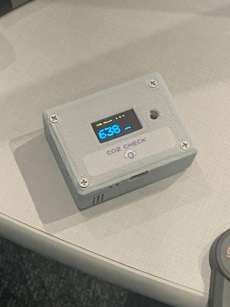 CO2 carbon dioxide detector air