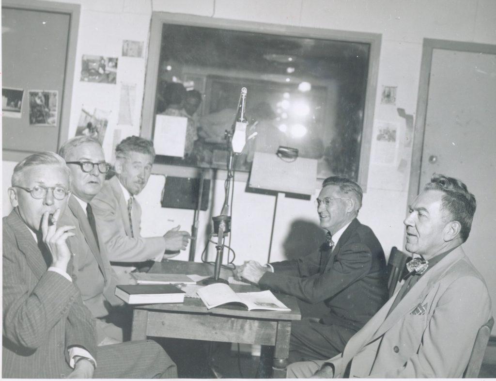 KRCC archival photo - 1951 Krutzke Adams Carter Blakely Barnes