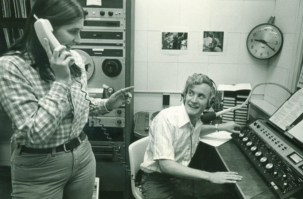 KRCC archival photo - 1979 Van Driest Kerwin