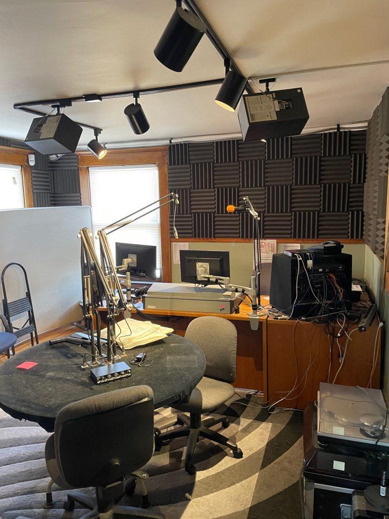 KRCC Weber building - Production studio