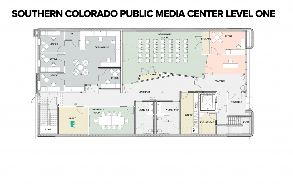 SCPMC Floor Plan - Level One
