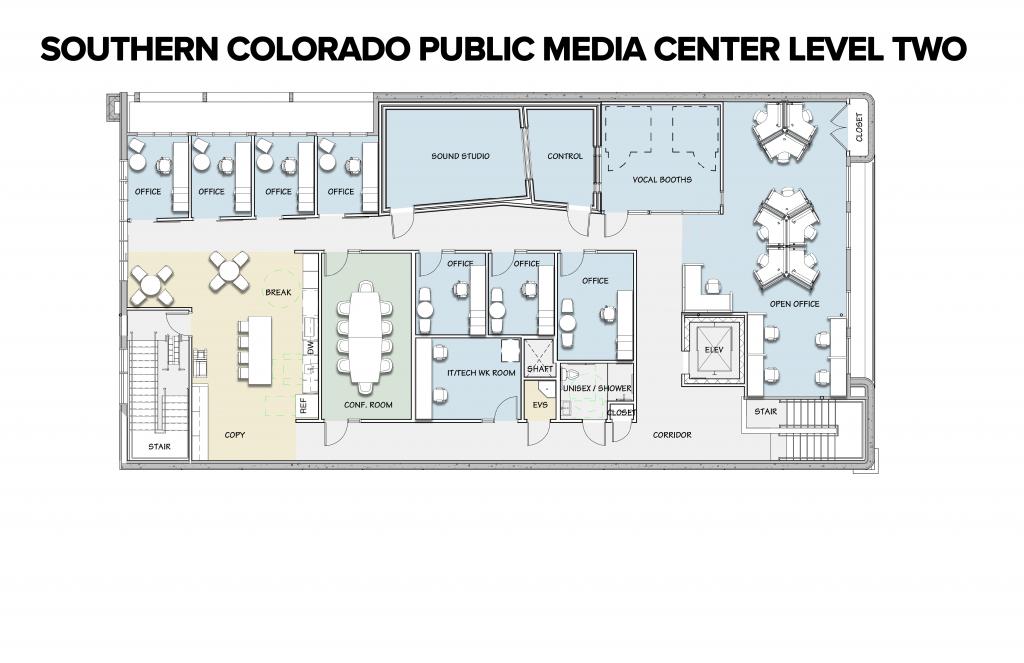 SCPMC Floor Plan - Level Two