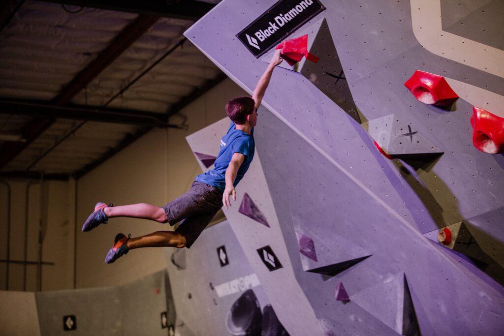 Collin Duffy Olympic Climber Climbing Broomfield
