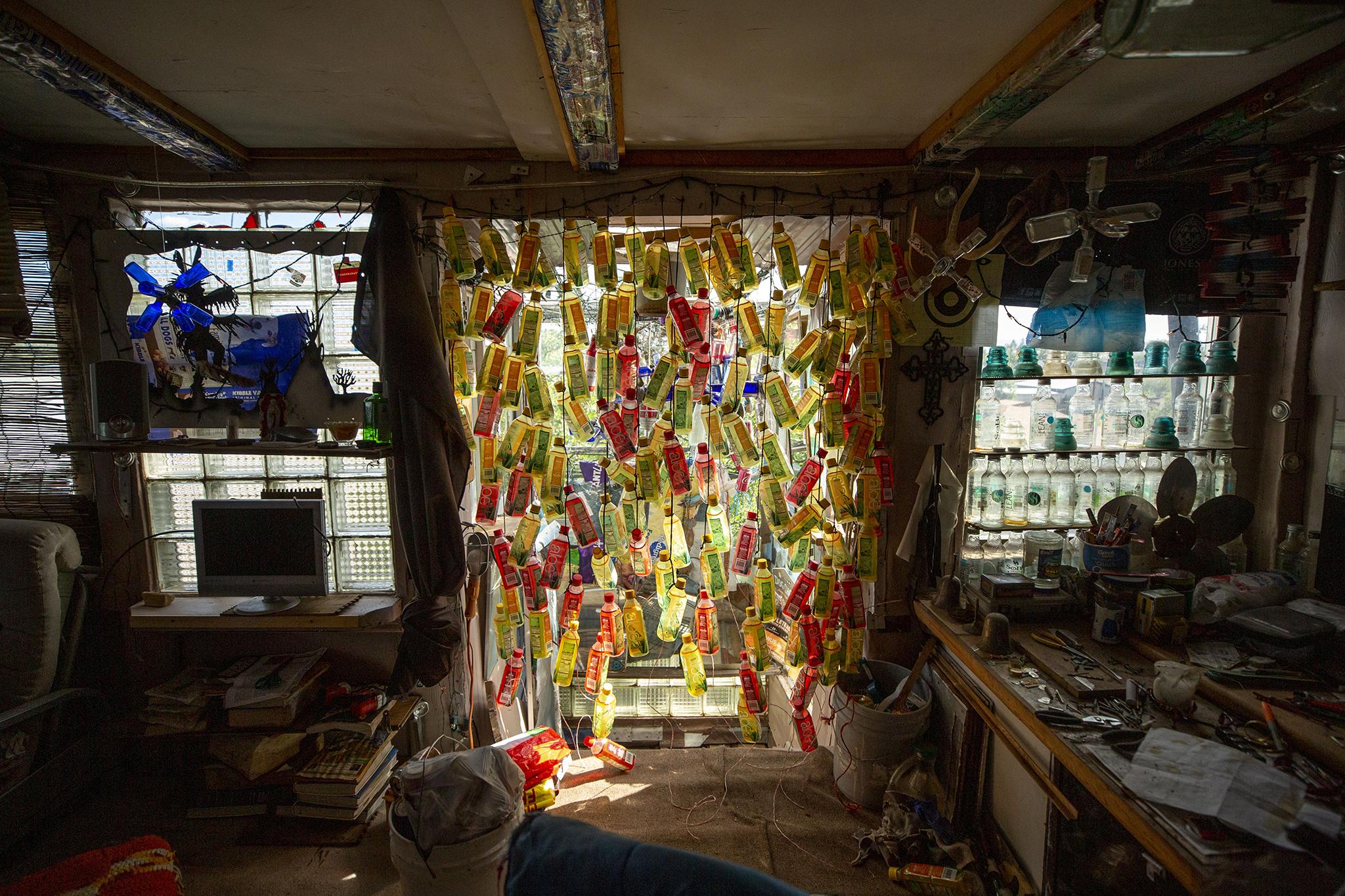 Inside Dominic 'Cano' Espinoza's home in Antonito. Aug. 25, 2021.